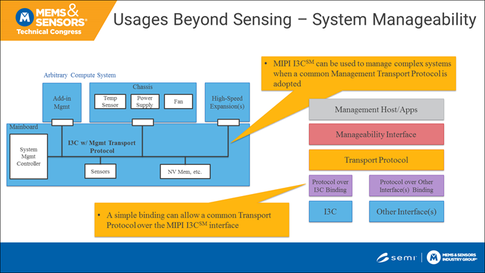 MIPI I3C for system manageability