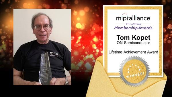 Tom-Kopet-Award