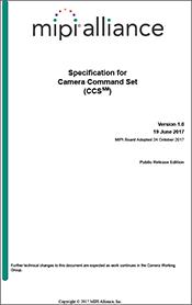 MIPI Camera Command Set specification