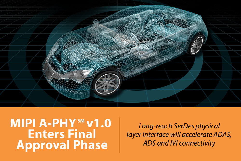 MIPI A-PHY has entered the final approval phase