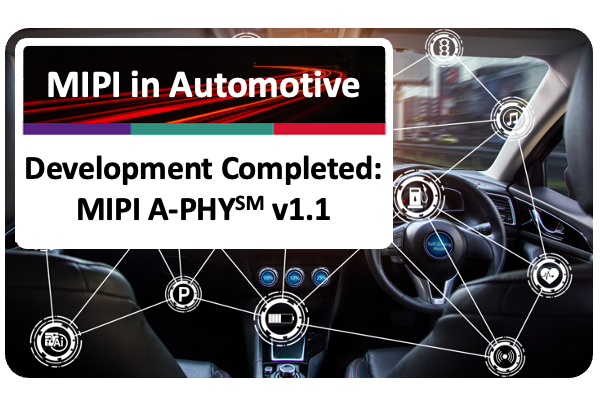 MIPI A-PHY v1.1 development completed image