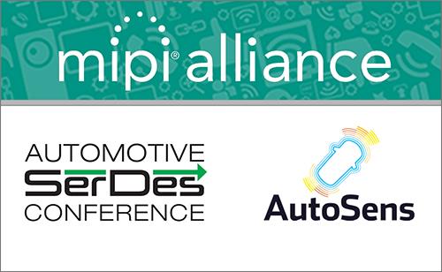 MIPI Alliance to speak at Automotive SerDes Conference and AutoSens Detroit Conference