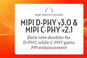 MIPI D-PHY and C-PHY