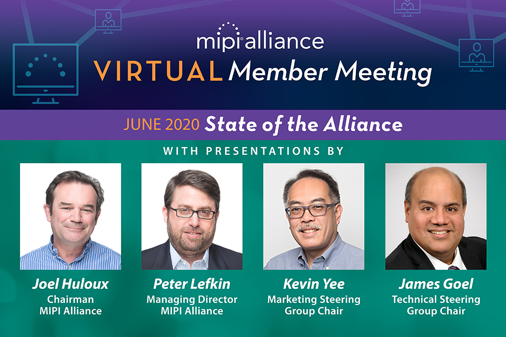 MIPI Kicks off Member Meeting #54 with State of the Alliance & Membership Awards Ceremony
