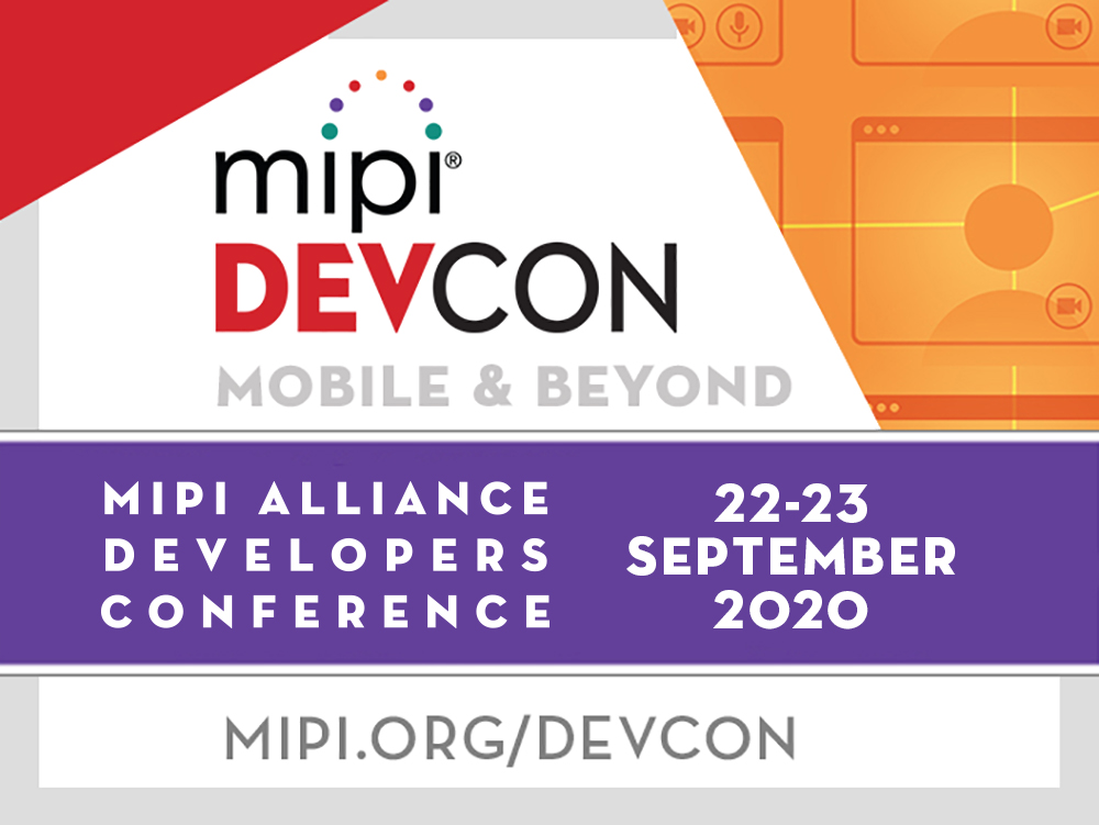 Virtual MIPI DevCon Offers Two Days of Technical Sessions and Demos