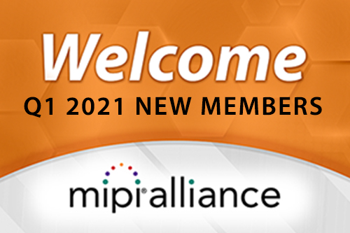 Welcome Q1 2020 New Members