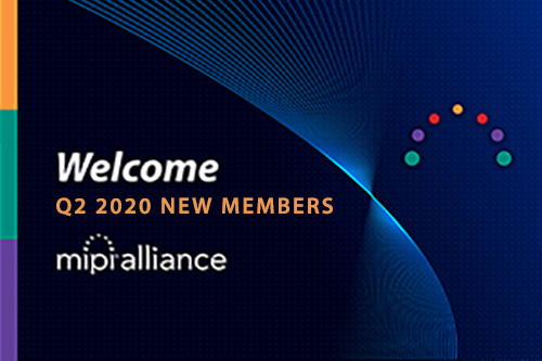 Welcome New Members – 2nd Quarter 2020